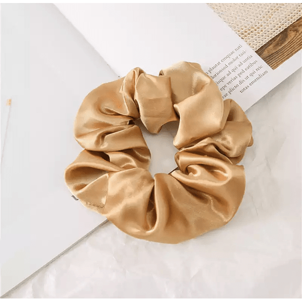 Light Coffee Scrunchie