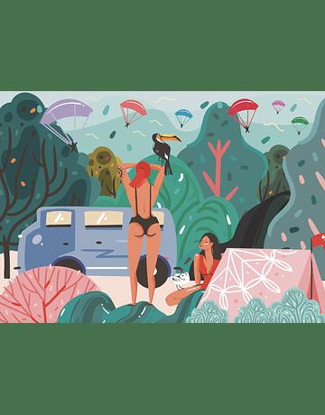 Puzzle In The Woods 1.000 piezas