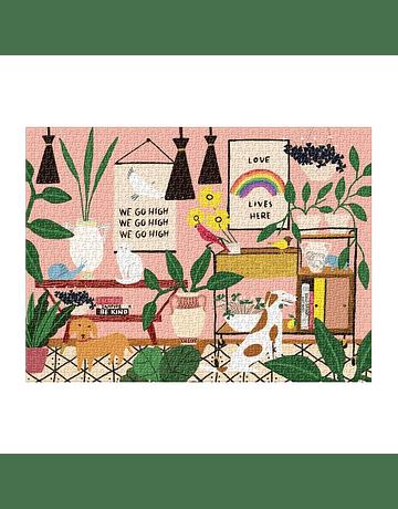 Puzzle Anne Bentley Love Lives Here 1.000 piezas