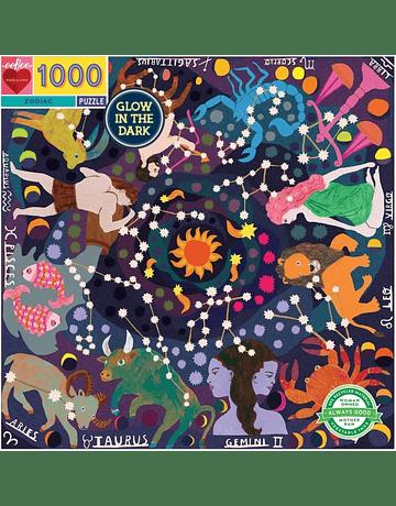 Puzzle Zodiac 1.000 piezas Glow in the Dark