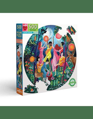 Puzzle redondo Moon Dance 500 piezas