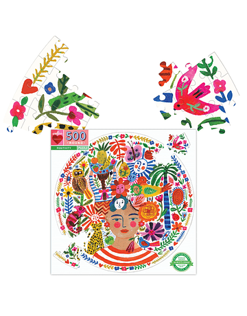 Puzzle redondo Positivity 500 piezas