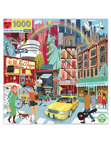Puzzle New York City Life 1.000 piezas