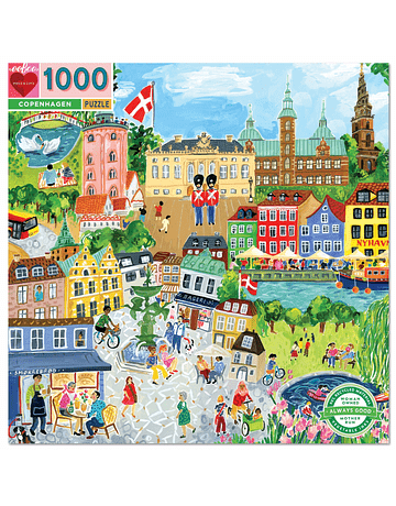 Puzzle Copenhagen 1.000 piezas
