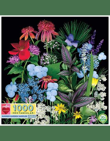 Puzzle Summer Garden 1.000 piezas
