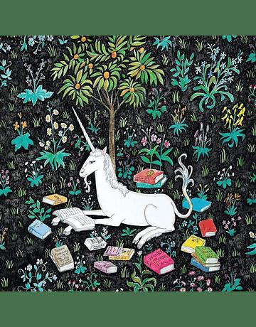 Puzzle Unicorn Reading 500 piezas