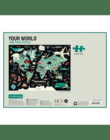 Puzzle Your World 1.000 piezas