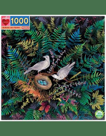 Puzzle Birds in Fern 1.000 piezas