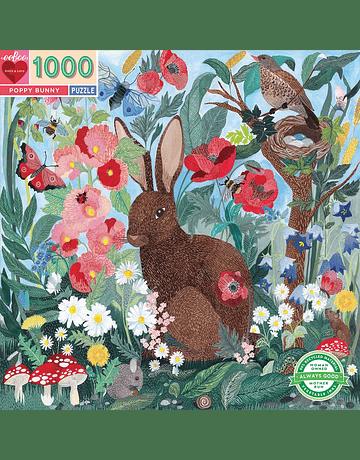 Puzzle Poppy Bunny 1.000 piezas