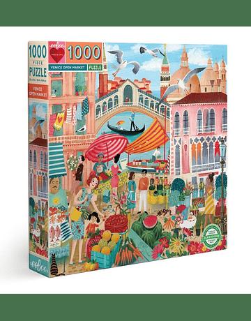 Puzzle Venice Open Market 1.000 piezas