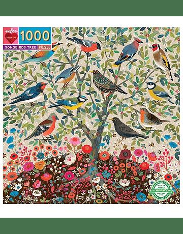 Puzzle Songbirds Tree 1.000 piezas