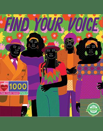 Puzzle Find Your Voice 1.000 piezas