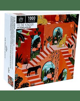 Puzzle Feline Kingdom 1.000 piezas