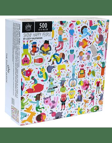 Puzzle Shiny Happy People 500 piezas