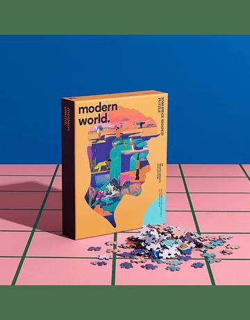 Puzzle Mindful Mental Wealth con forma 1.046 piezas