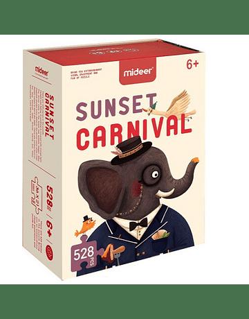 Puzzle infantil Sunset Carnival 528 Piezas