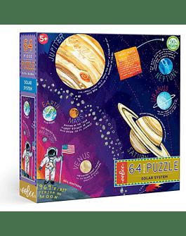 Puzzle infantil Sistema Solar 64 piezas