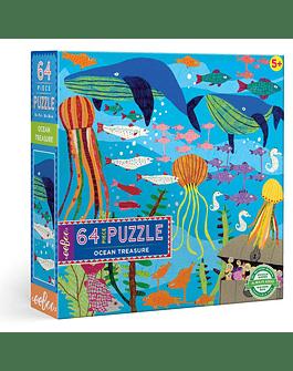 Puzzle infantil Ocean Treasure 64 piezas