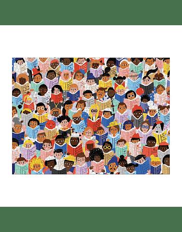 Puzzle Book Club 1.000 piezas