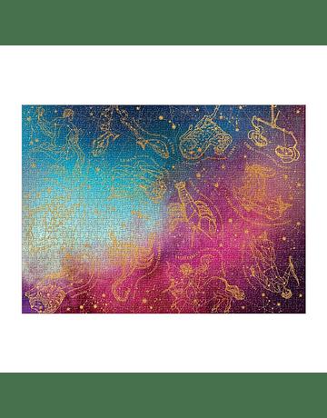 Puzzle Astrology 1000 piezas con folia dorada