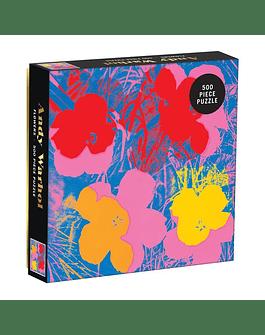 Puzzle Flowers de Andy Warhol 500 Piezas
