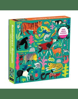 Puzzle Rainforest Animals 500 Piezas