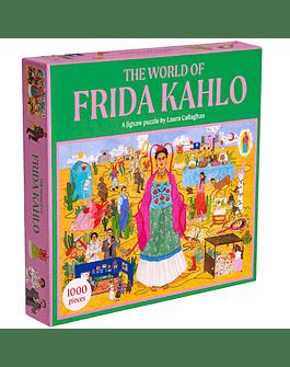 Puzzle The world of Frida Kahlo 1000 piezas