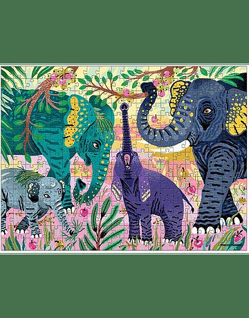 Puzzle Asian Elephants 300 Piezas
