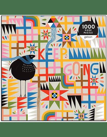 Puzzle Keep Going 1.000 piezas