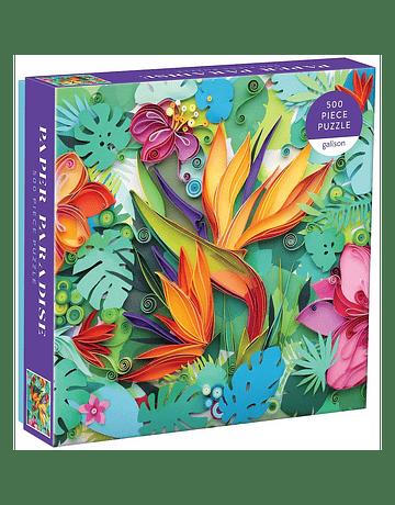 Puzzle Paper Paradise 500 piezas