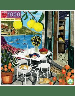 Puzzle Cats in Positano 1.000 piezas