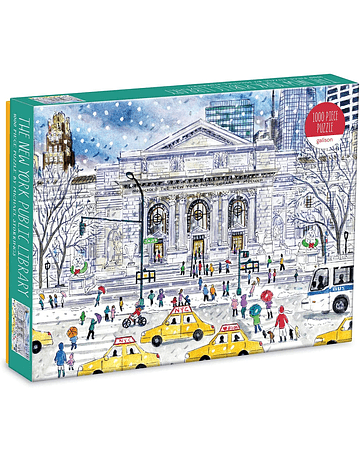 Puzzle New York Public Library By Michael Storrings 1.000 piezas