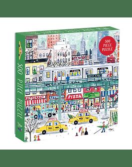 Puzzle New York Subway by Michael Storrings 500 piezas