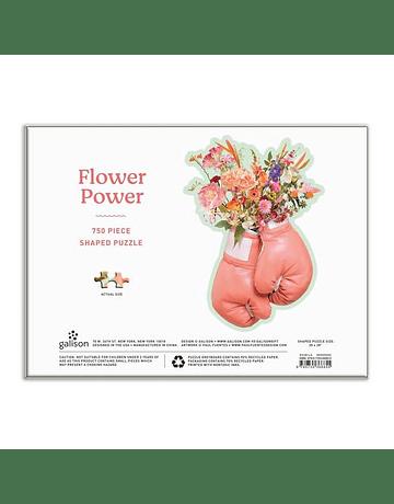 Puzzle con forma Flower Power 750 Piezas
