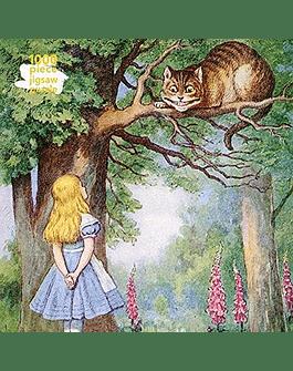 Puzzle Alice and the Cheshire Cat 1.000 piezas