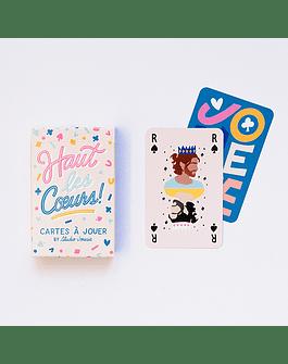 """Juego de cartas """"Haut les Coeurs"""" Studio Jonesie"""