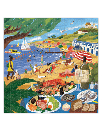 Puzzle Beach Umbrellas 1.000 piezas