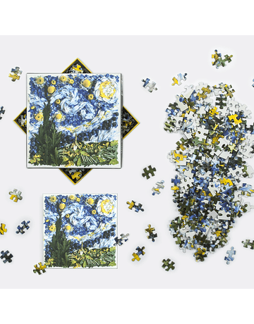 Puzzle Starry Night Petals 500 Piezas