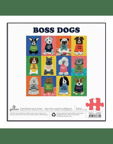 Puzzle Boss Dogs 500 Piezas