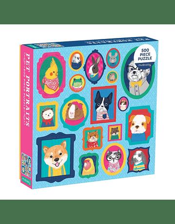 Puzzle Pet Portraits 500 Piezas