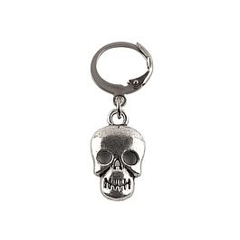 Aro Solitario Happy Skull