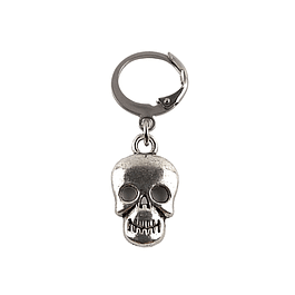 Aro Solitario Happy Skull