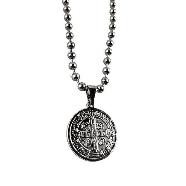 Collar Medalla San Benito
