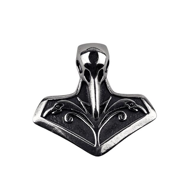 Colgante Cuervo Vikingo