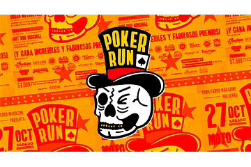 Poker Run by Caballeros Mag