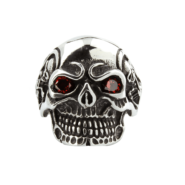 Anillo Red Eyes Skull