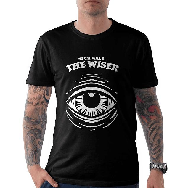 Polera The Wiser Ojo Color Negro