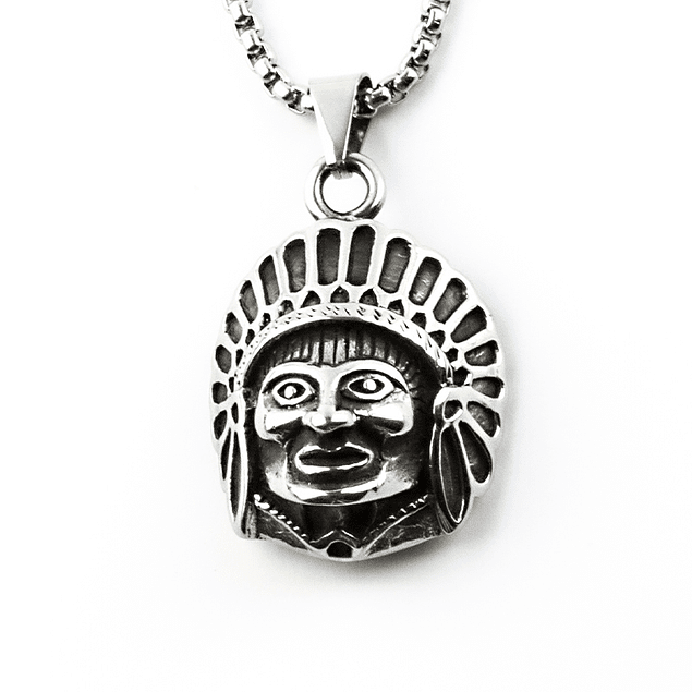 Colgante Indio Americano