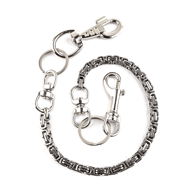 Wallet Chain Eslabon Cuadrado 10mm