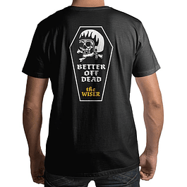 Polera Negra The Wiser Better Off Dead